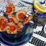 Gamberetti e pomodorini in salsa teriyaki