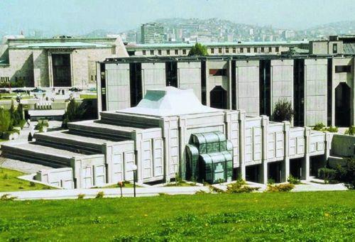 Mimar BEHRUZ ÇİNİCİ - Türkiye Büyük Millet Meclisi Camisi ve Halkla İlişkiler Binası, Ankara - Türkiye