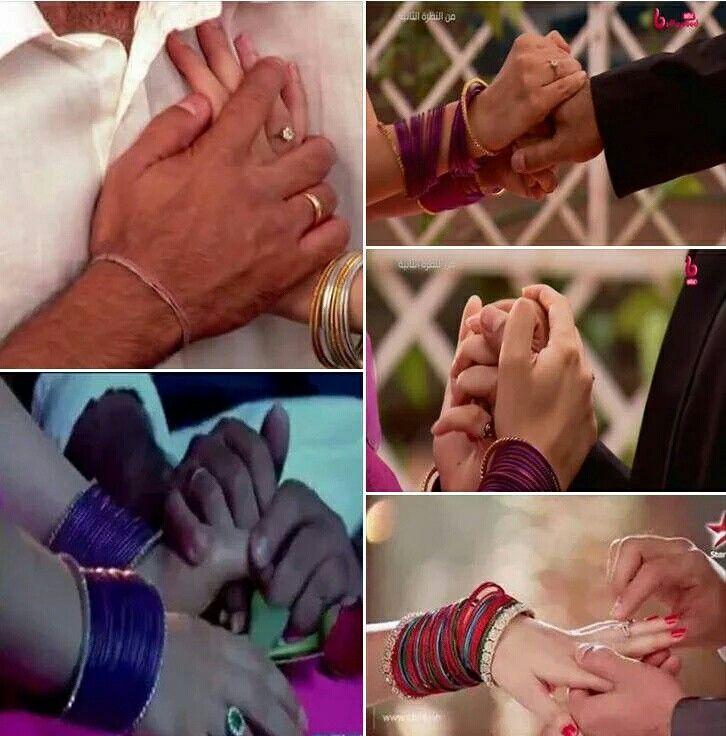 Arnav and Khushi holding hands #ipkknd