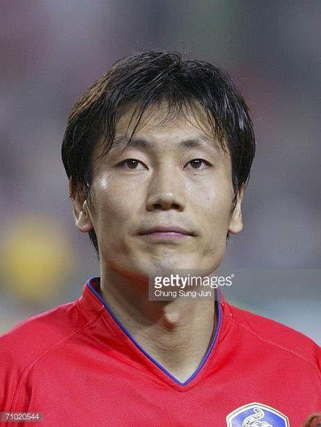 Song ChongGug of South Korea during the International friendly match between South Korea and Senegal at the SangAm World Cup stadium on May 23 2006...