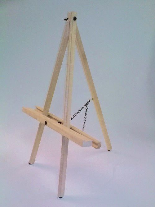 Details About 6 Six Of This Table Top Wood Easel Max