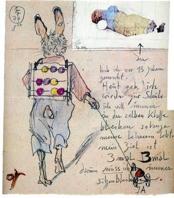 Horst Janssen, Brief an Birgit Jacobsen, 1974