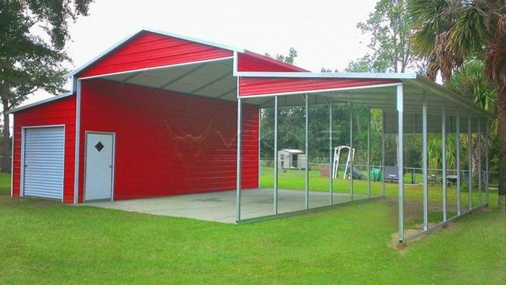 Pin by Melanie Murphy on Rv Barn Metal carport kits