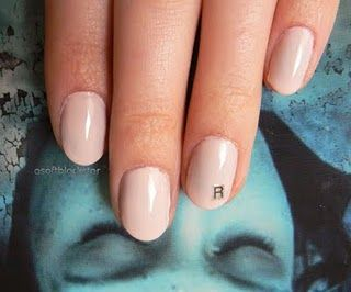 Laura Palmer Twin Peaks Nails