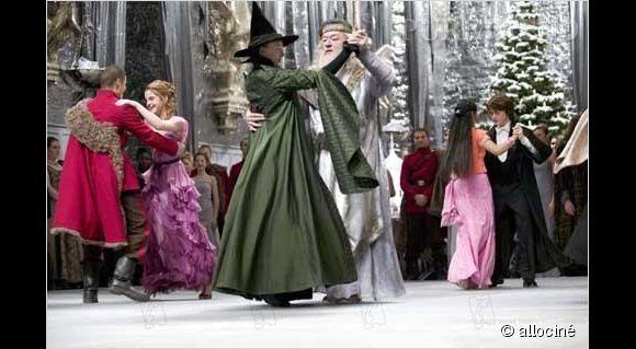PHOTOS - Le Bal de Noël dans Harry potter et la coupe de ...
