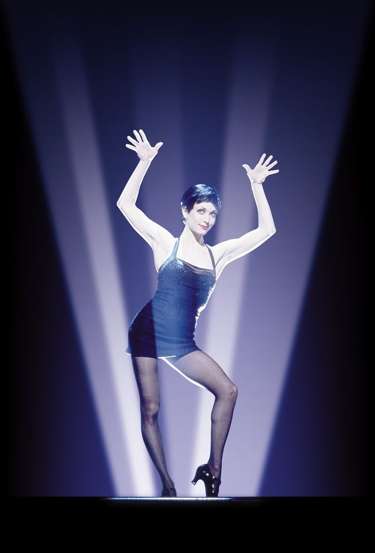 """Bebe Neuwirth in """"Chicago"""" (with Jazz hands)...my inspiration for my DREAM ROLE! Velma Kelly! ;)"""