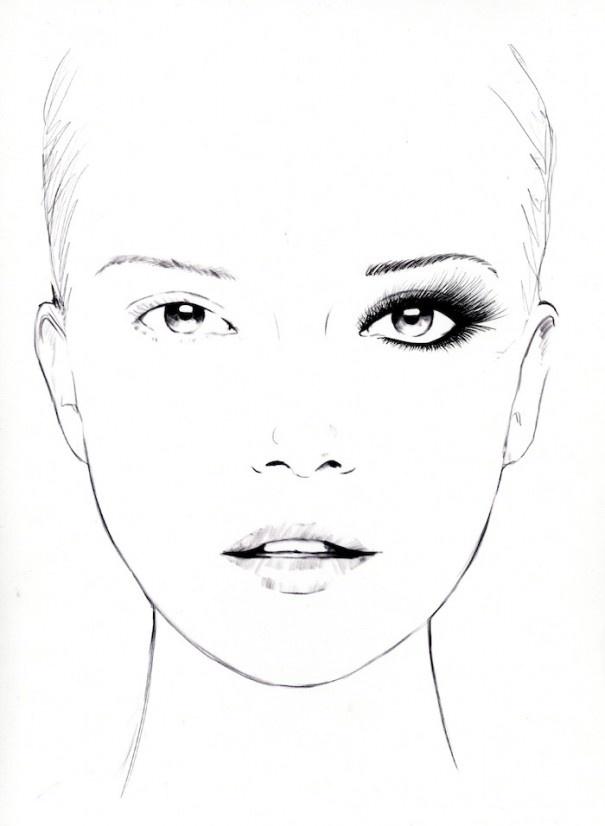 Makeup Drawing: Best 20+ Makeup Drawing Ideas On Pinterest