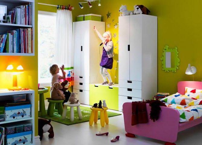 Chambre amis idee stuva pinterest chambre amis for Ikea amis et prestations familiales