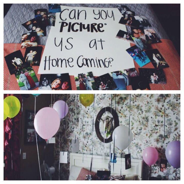 Cute homecoming proposal!