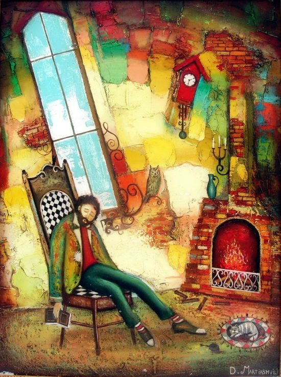 David Martiashvili  #art, #painting