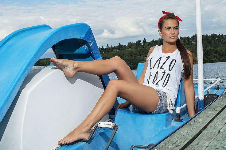 tank top Youngprimitive. Czech fashion designers