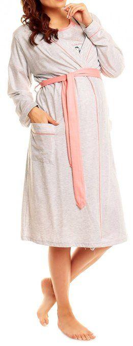 Happy Mama Donna Prémaman camicia da notte vestaglia set allattamento. 385p: Amazon.it: Abbigliamento