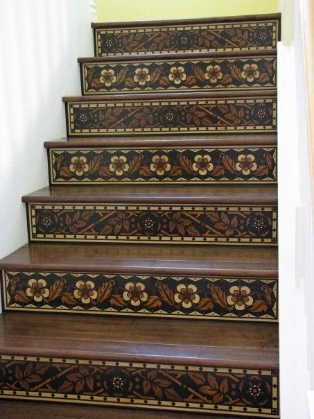 stair riser patterns - Bing Images