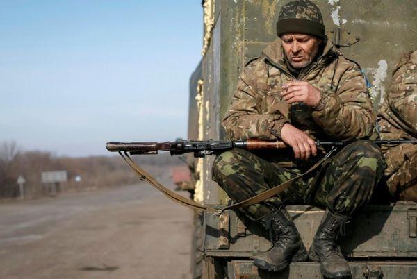 Опять идут боевые действия в Украине, есть погибшие среди украинских солдат, что я хочу сказать... Единственным лозунгом для нормального...