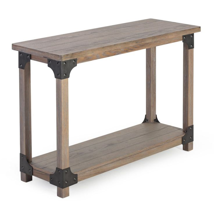 25 Great Ideas About Rustic Console Tables On Pinterest
