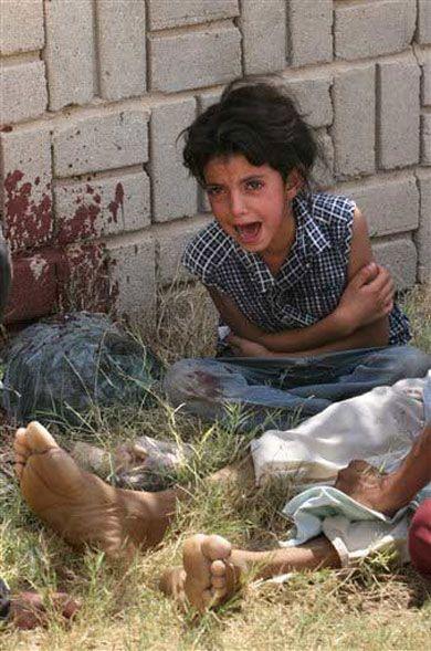 Genocidio del pueblo iraquí