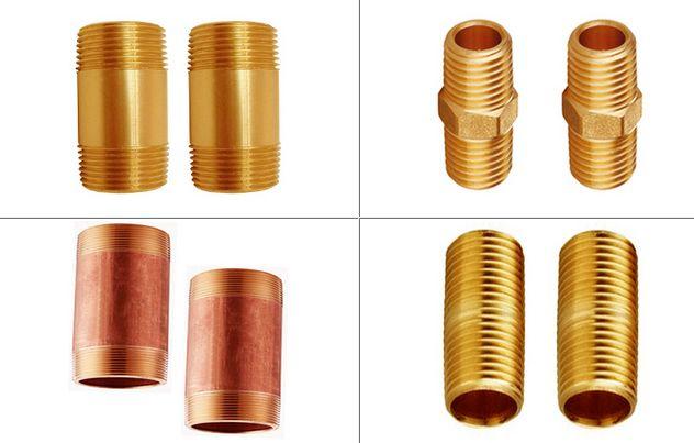 Brass Pipe Nipples Bronze Nipples #BrassPipeNipples #BronzeNipples