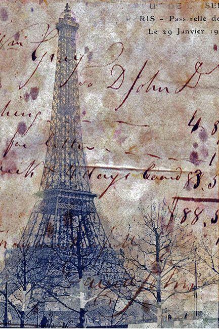 : Paris Je, Paris Eiffel Towers, Tour Eiffel, Beautiful Blue, Paris France, Art Paris, France Paris, Decoupage
