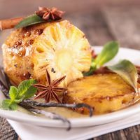 Brazilian Steakhouse style Grilled Pineapple