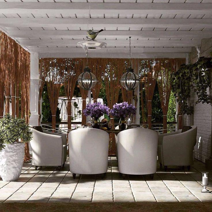Зона барбекю во дворе частного дома...Средиземноморское настроение#terrase#homedesign#landscape#дизайнинтерьеров by interius_design_studio