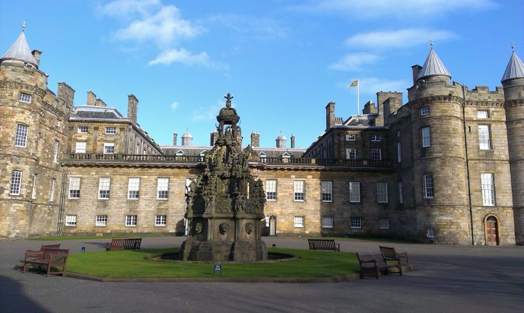 Edynburg / Edinburgh - Holyrood Palace