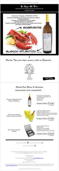 Vino Blanco + Bogavante / White wine + Lobster
