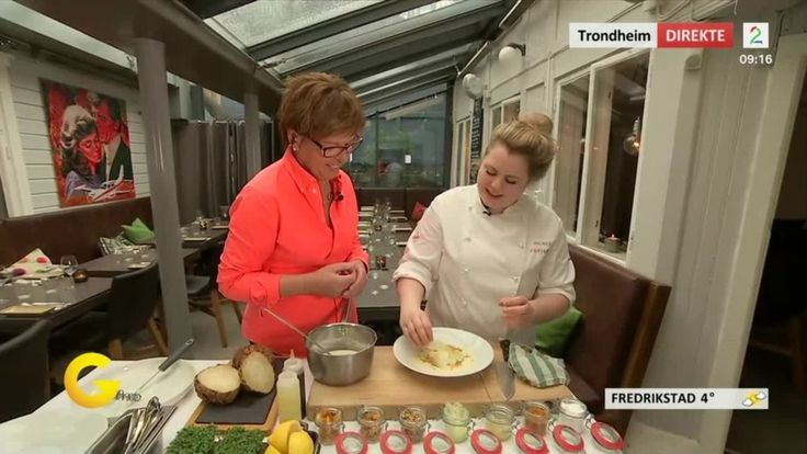 Wenche tok turen til superkokk Reneè Fagerhøi i Trondheim for å vise hvordan du enkelt kan lage en proff og smakfull suppe.