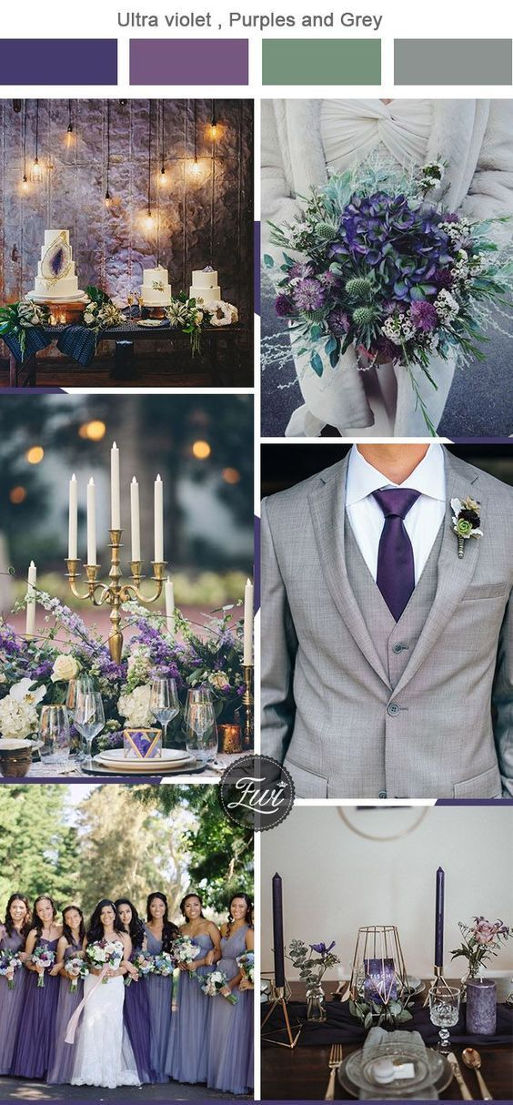 6 Unexpected Wedding Color Combos To Have Your Wedding Stand Out