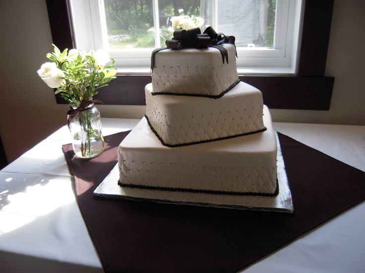 Idée originale de gâteau de mariage