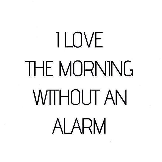 no alarm = perfect start into the day #weekend by asos_isabellemarie