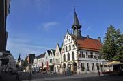 Der Marktplatz von Steinfurt ist die gute Stube der Stadt. Genau der richtige Ort für eine Pause bei einer Radtour.