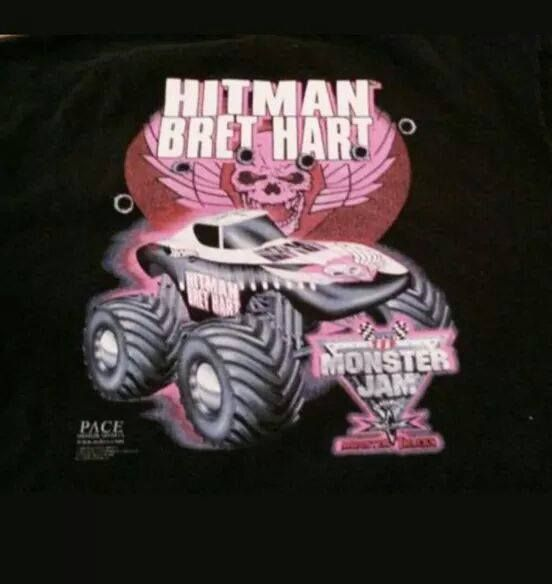 The cancelled Hitman Bret Hart Montser truck. It would later become Spiderman