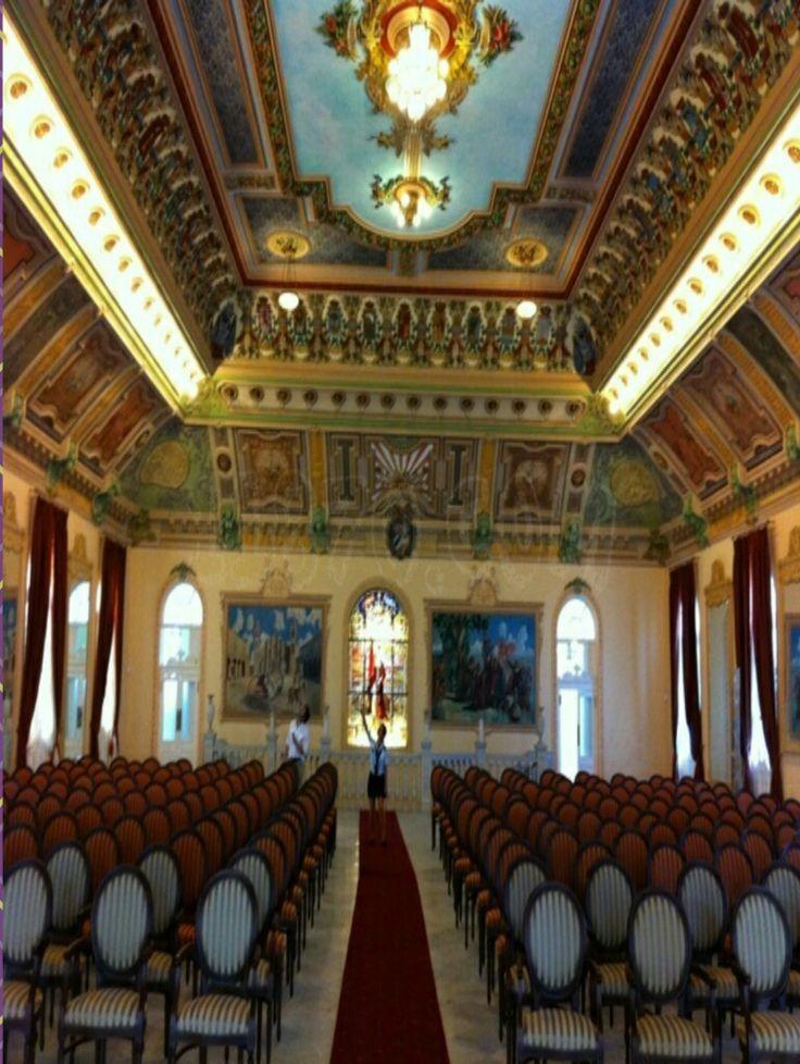 Palacio De Los Matrimonios La Habana Antiguo Casino Español Cuba Valance Curtains Castro