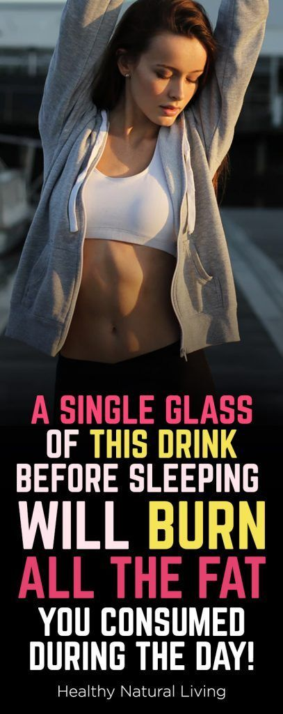 Ein einziges Glas dieses Getränks vor dem Schlafen brennt all das Fett, das Sie konsumiert haben