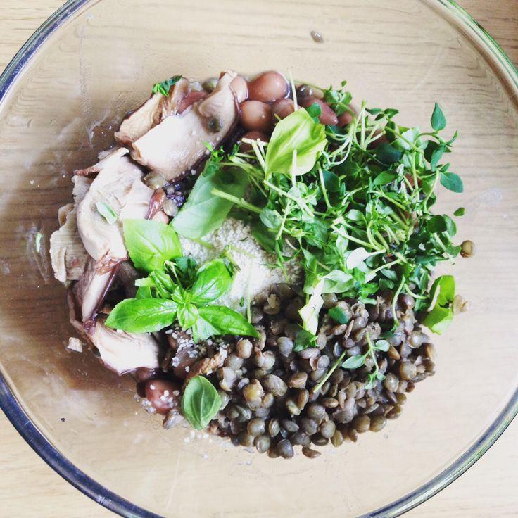 Vegetarian pate in making! Check out the recipe: https://vegemealia.wordpress.com/2016/08/29/veggie-sausage-rolls/