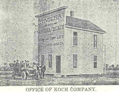 Riviera Texas Koch Company old photo