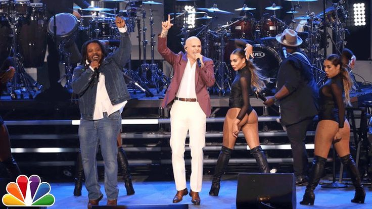 """New post on Getmybuzzup- Pitbull Performs """"Options"""" Live ft. Stephen Marley on Fallon [Video]- http://getmybuzzup.com/?p=745881- Please Share"""