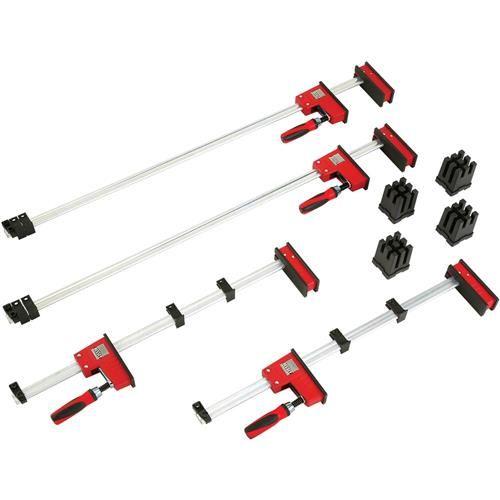 "K-Body Revo Cabinet Door Clamp Kit (2-24"", 2-40"" & 4 Blocks) | Grizzly Industrial"