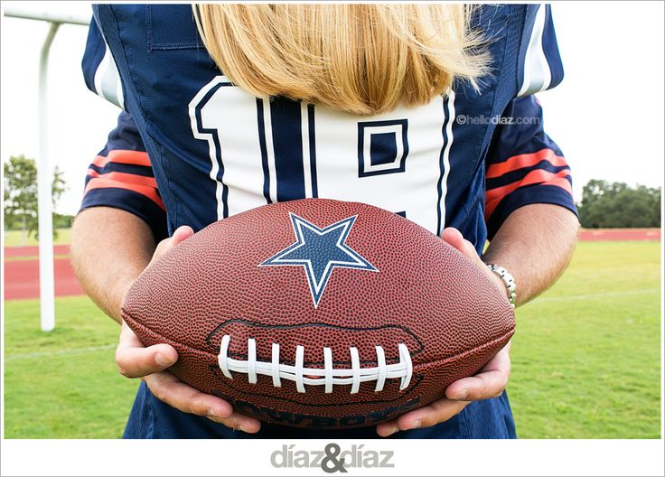 Football Engagement photos by San Antonio photographer Ginger Diaz http://hellodiaz.com