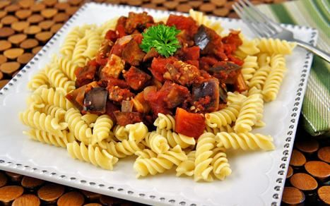 Eggplant_and_Tomato_Sauce_with_Pasta_1 | Slow Cooker Recipes | Pinter ...