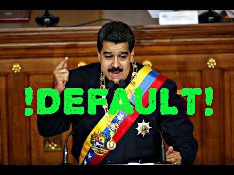 ULTIMA HORA: MADURO !OFICIALMENTE EN DEFAULT!