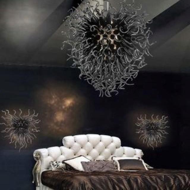 Capriccio black chandelier