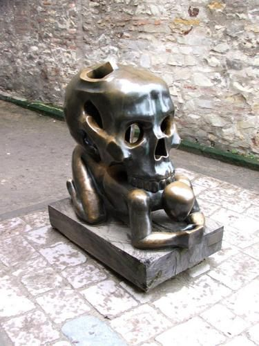 Parable with a Skull, Jaroslav Rona, 1993.