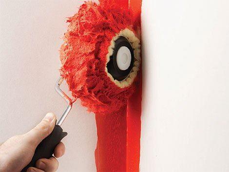 Genellikle çetin geçen bir kışın ardından girilen bahar temizliği sırasında duvarlarda boyatılır.