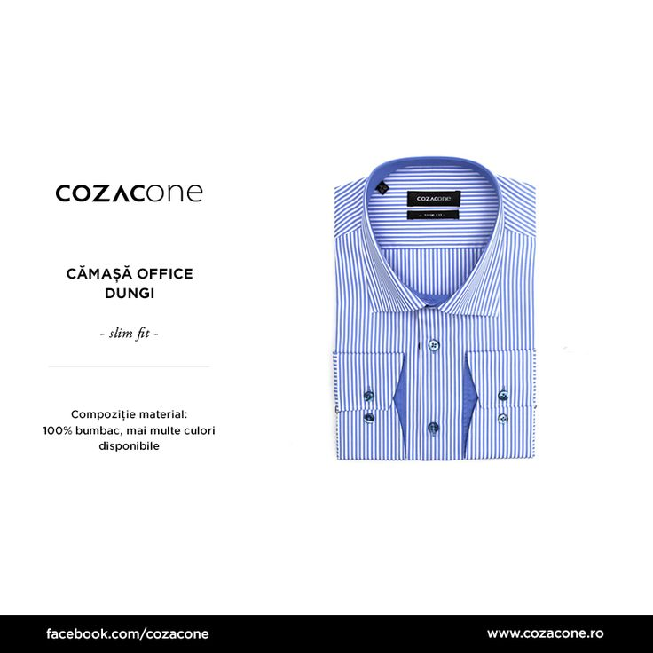 O cămașă office versatilă, disponibilă în 3 culori primăvăratice: http://bit.ly/camasa_office_dungi