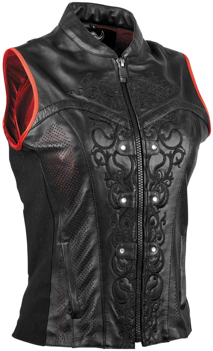 Speed & Strength Moto Lisa Women's Leather Motorcycle Vest