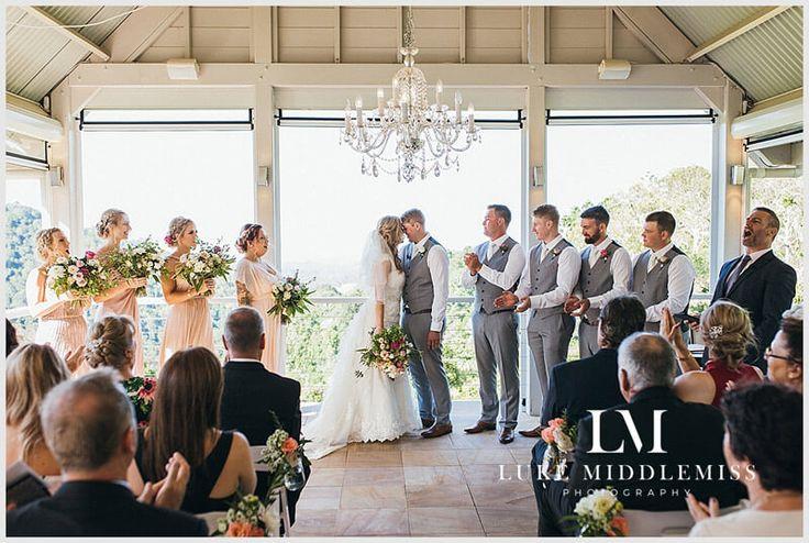 Wedding Ceremony at Maleny Manor - Sunshine Coast // Wedding DJ G&M Event Group #GMEventGroup #DJBrianDavis #Wedding #SunshineCoastWedding
