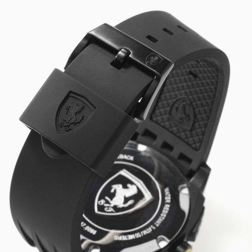 Scuderia Ferrari Aerodinamico Chronograph Watch Black NEW #ferrai #ferraristore #scuderiaferrari #aerodinamico #cronograph #watch #wind #tunnel #prancinghorse #cavallinorampante #official #shield #logo #digital #movement #waterproof #alarm #data