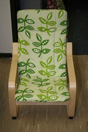 Nieuwe hoes voor de poang.: Covers Tutorials, Kids Poang, Kids Chairs, Patio Chairs, Child Poang, Ikea Poang, Ikea Chairs, Poang Chairs, Chairs Covers