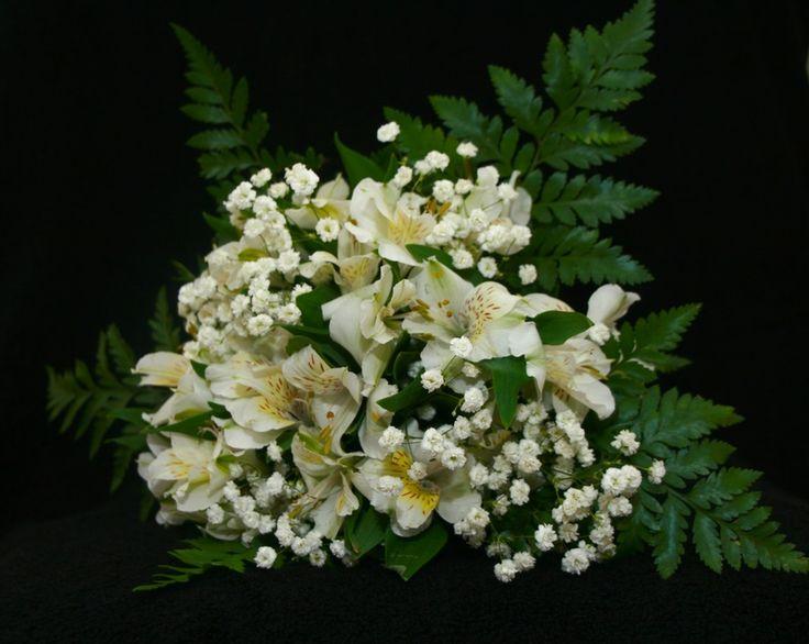 Image detail for -Alstroemeria, White Bouquet - Jamie's Bridal Blooms